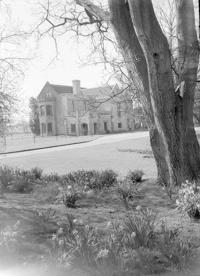Offchurch Bury, Offchurch.  1958    IMAGE LOCATION: (Warwickshire County Record Office)