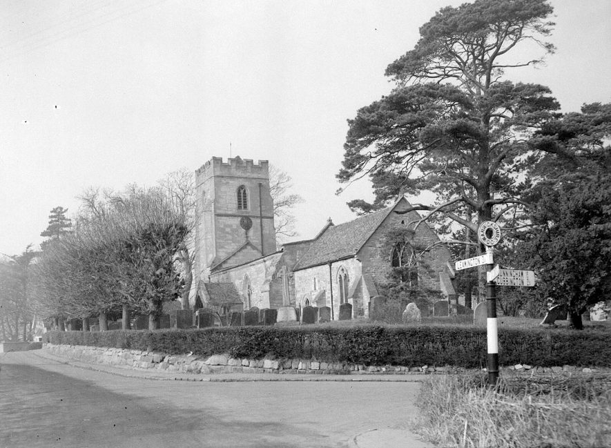 Church of St Gregory, Offchurch.  1958 |  IMAGE LOCATION: (Warwickshire County Record Office)