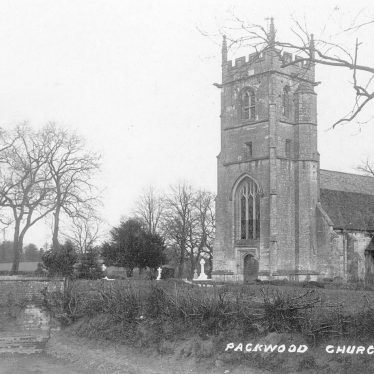 Packwood.  Church of St Giles