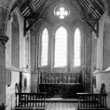 Pillerton Hersey.  Church interior