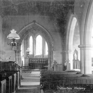 Pillerton Hersey.  Church interior
