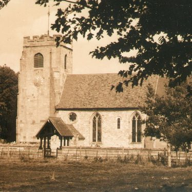 Radford Semele.  Church of St Nicholas