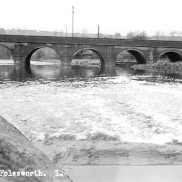 Polesworth.  Bridge and River Anker