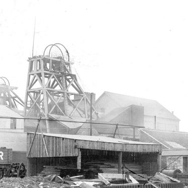 Polesworth.  Hall End Colliery