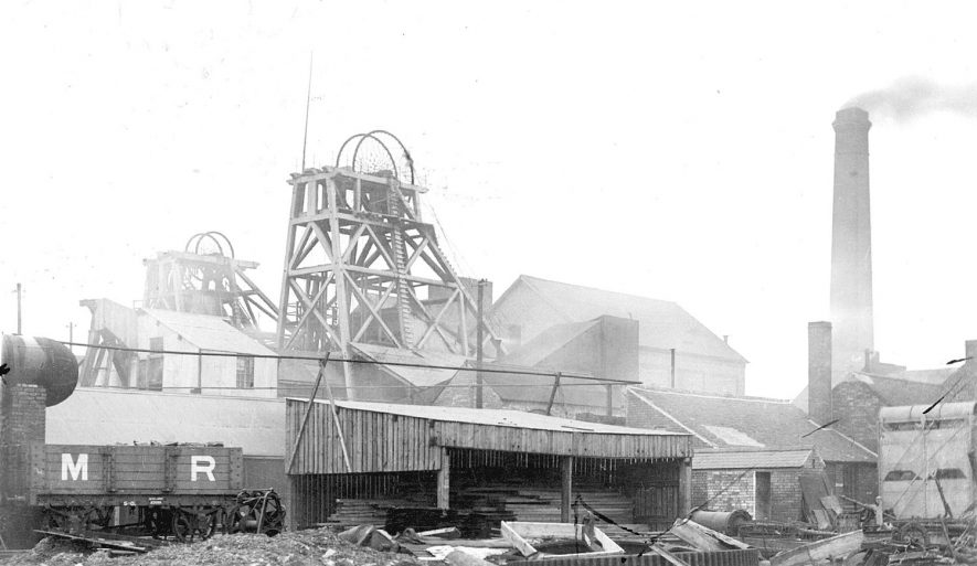 Hall End Colliery, Polesworth.  27th August 1940. |  IMAGE LOCATION: (Warwickshire County Record Office)