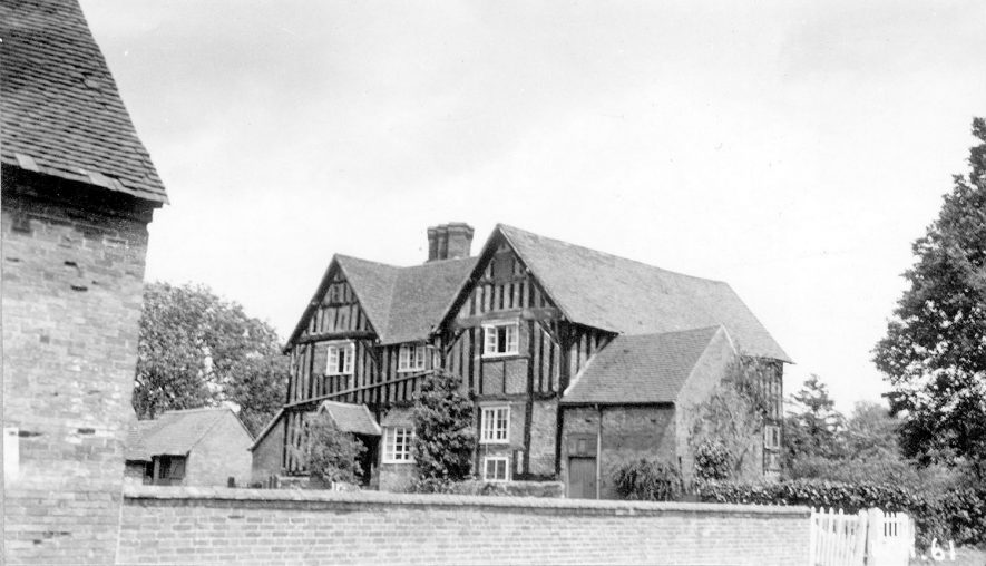 The manor house, Preston Bagot.  1938 |  IMAGE LOCATION: (Warwickshire County Record Office)