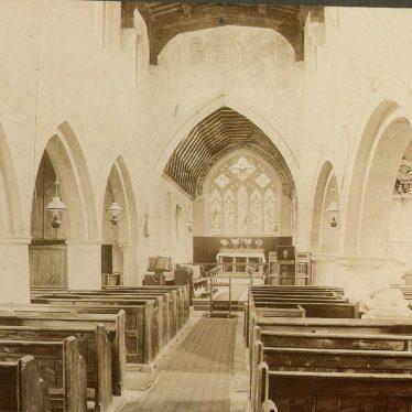 Quinton, Lower.  Church interior