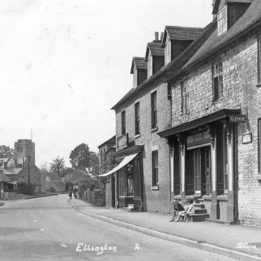 Ettington.  Main street