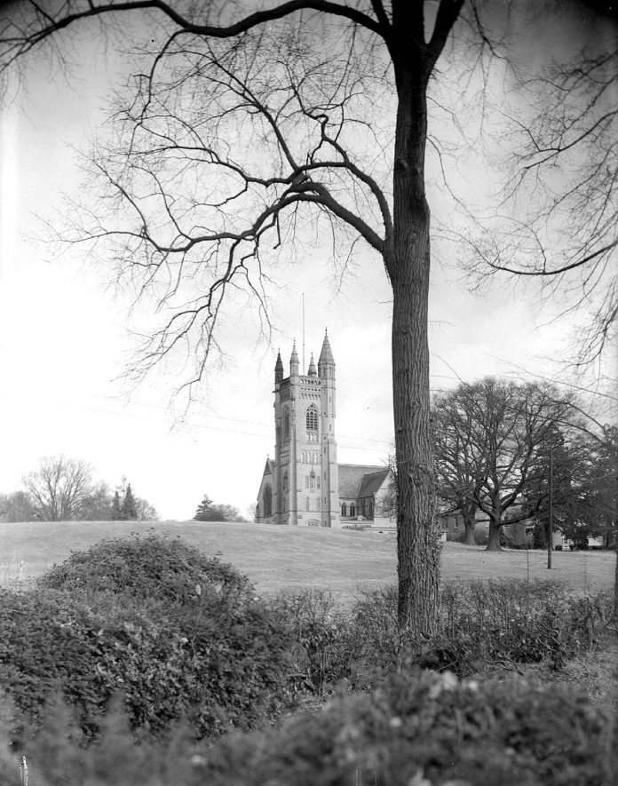 Princethorpe Priory.  1956 |  IMAGE LOCATION: (Warwickshire County Record Office)