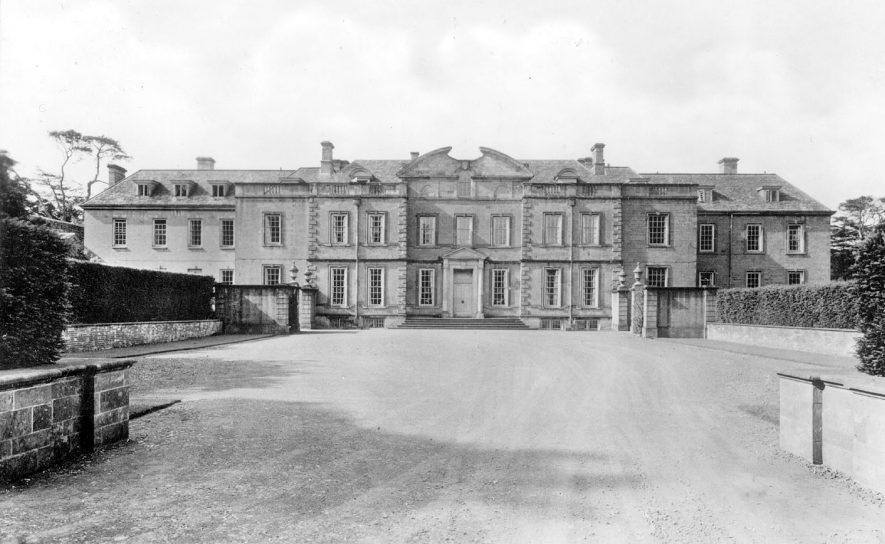 Upton House now owned by the National Trust, Ratley.  1930s |  IMAGE LOCATION: (Warwickshire County Record Office)