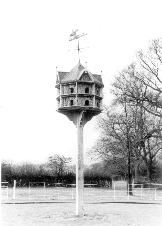 Wind Mill House dovecote, Rowington.  1960s |  IMAGE LOCATION: (Warwickshire County Record Office)
