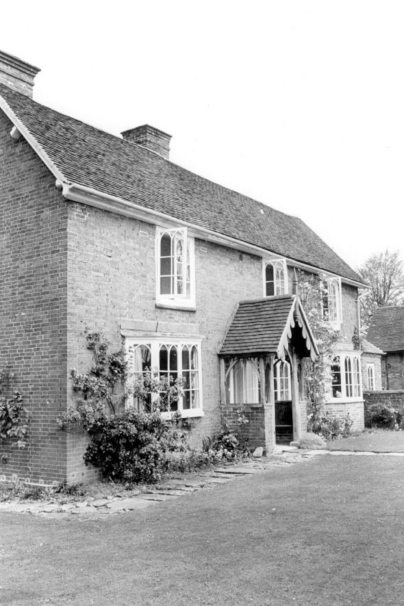 Wind Mill House, Rowington.  1960s |  IMAGE LOCATION: (Warwickshire County Record Office)