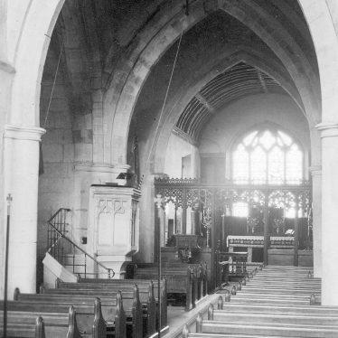 Rowington.  Church Interior