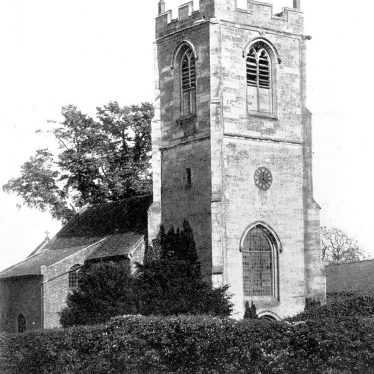 Ryton on Dunsmore.  St Leonard's church