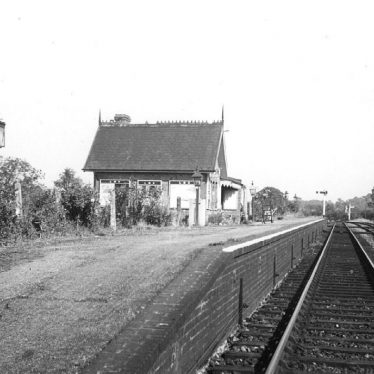 Ettington.  Railway Station