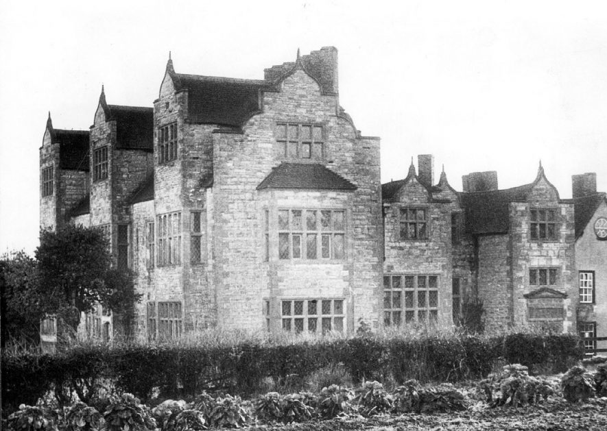 Salford Hall, Salford Priors.  1933 |  IMAGE LOCATION: (Warwickshire County Record Office)