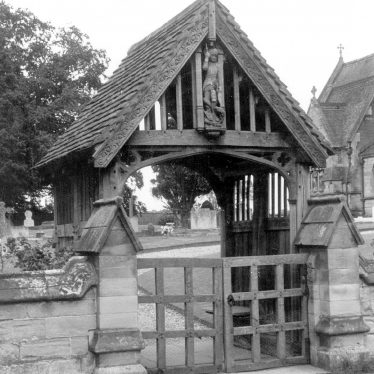Sherbourne.  Lych Gate at All Saint's church