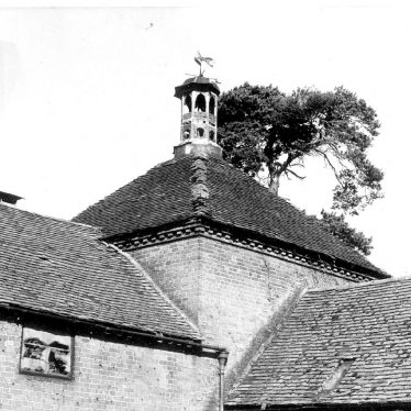 Sherbourne.  Cupola and dovecote at Sherbourne Farm