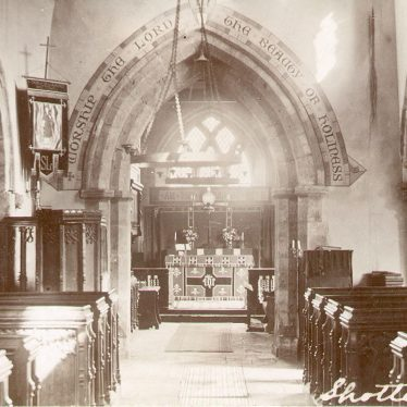 Shotteswell.  St Lawrence's church interior