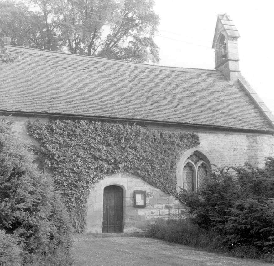 Exterior of St Leonard's church, Spernall.  1967 |  IMAGE LOCATION: (Warwickshire County Record Office)
