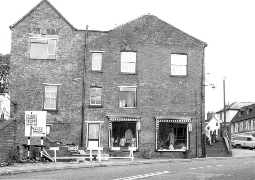 View of Market Hill, Southam.  1968 |  IMAGE LOCATION: (Warwickshire County Record Office)