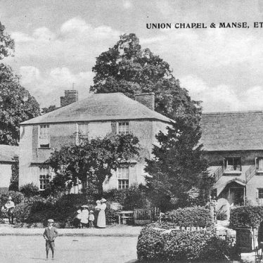 Ettington.  Union Chapel and Manse