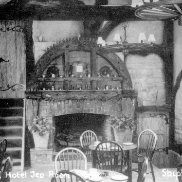 Shipston on Stour.  Old Mill Hotel Tea-room