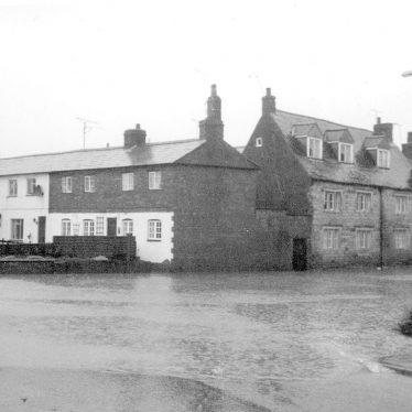 Shipston on Stour.  Floods