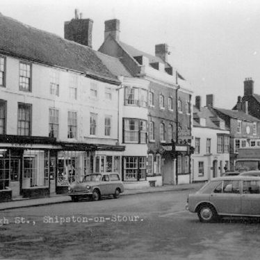 Shipston on Stour.  High Street