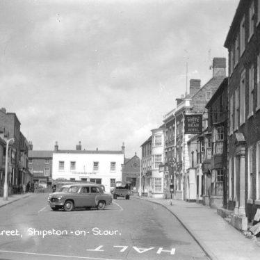 Shipston on Stour.  High Street