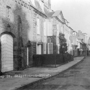 Shipston on Stour.  Sheep Street