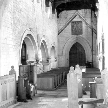 Quinton, Lower.  Church interior