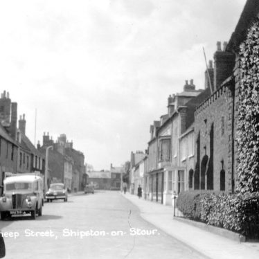 Shipston on Stour.  Sheep Street
