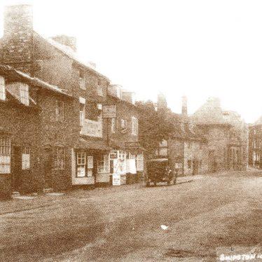 Shipston on Stour.  New Street