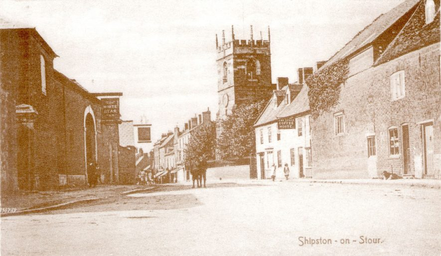 Church Street, Shipston on Stour.  1910 |  IMAGE LOCATION: (Warwickshire County Record Office)
