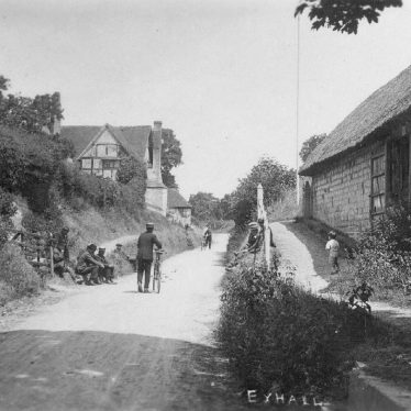 Exhall, nr Alcester.  Village street