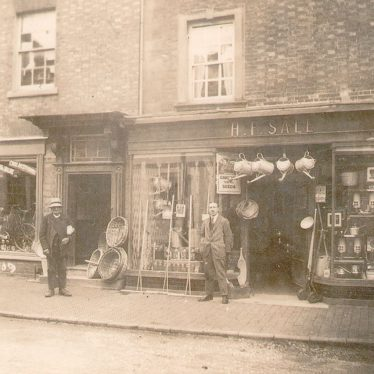 Shipston on Stour.  Henry Frank Sale & Sons ironmongers