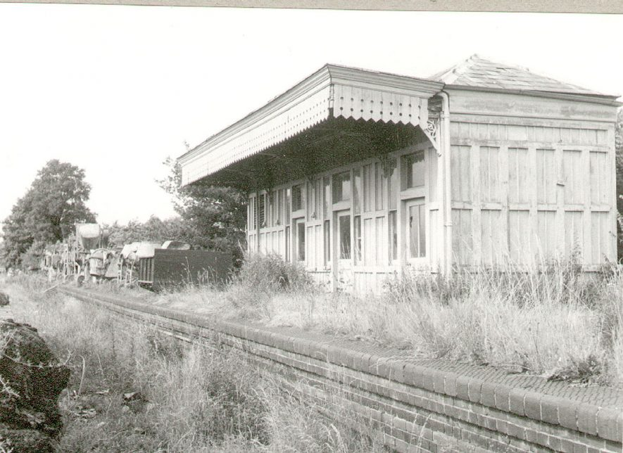 Disused railway station, Shipston on Stour.  1965 |  IMAGE LOCATION: (Warwickshire County Record Office)