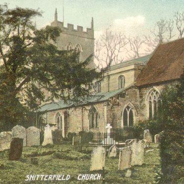 Snitterfield.  Parish church