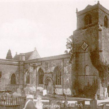 Stoneleigh.  Church, exterior