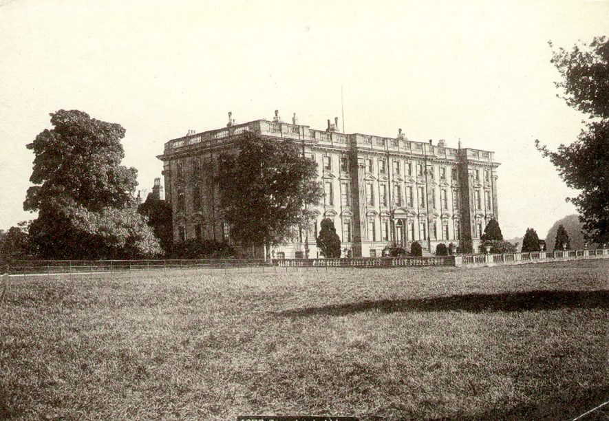 Stoneleigh Abbey main front.  1940s |  IMAGE LOCATION: (Warwickshire County Record Office)