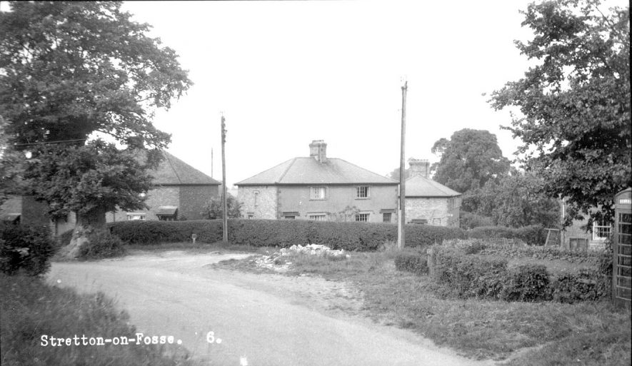 Recent housing in Stretton on Fosse.  1960s |  IMAGE LOCATION: (Warwickshire County Record Office)