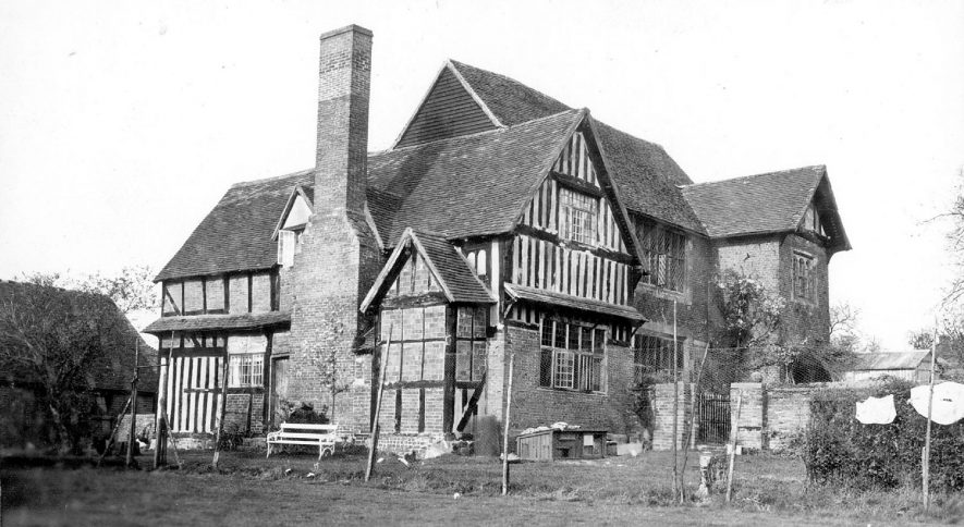 Gorcott Hall, Studley.  1930s