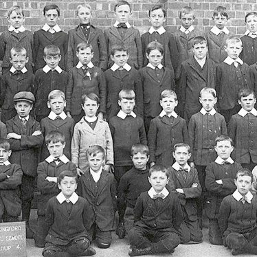 Stockingford.  Council School boys group 4