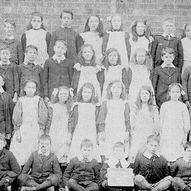 Stockingford.  Council School pupils