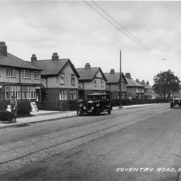 Exhall, nr Coventry.  Coventry Road