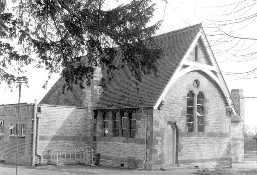 Temple Grafton Church of England School. This is the second school built in the village. It was built in 1874 and has been extended since the last war.  1967 |  IMAGE LOCATION: (Warwickshire County Record Office)