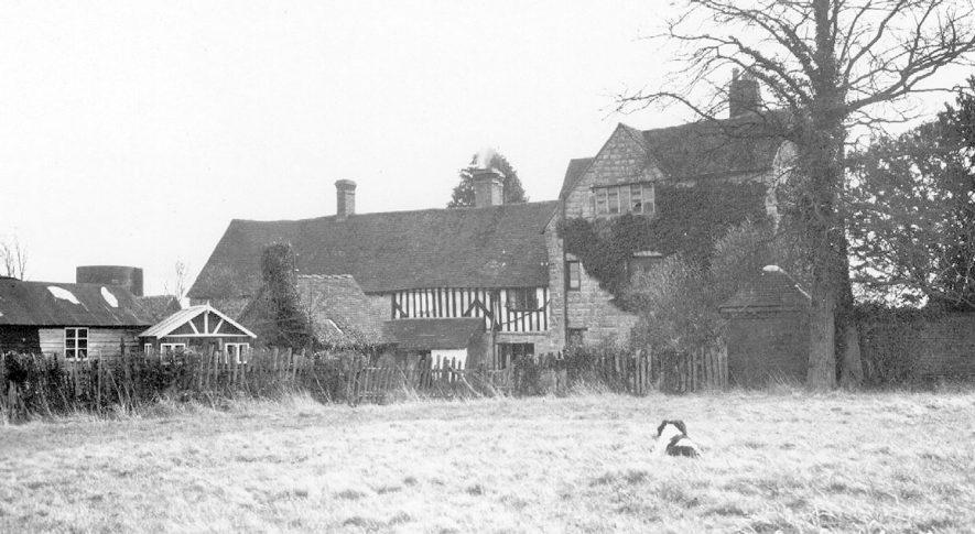 Hillborough Manor, Temple Grafton.  1938 |  IMAGE LOCATION: (Warwickshire County Record Office)