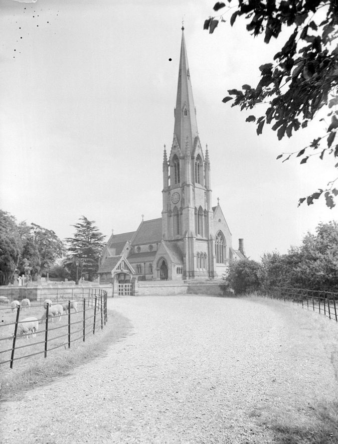 All Saint's church, Sherbourne.  1938 |  IMAGE LOCATION: (Warwickshire County Record Office)