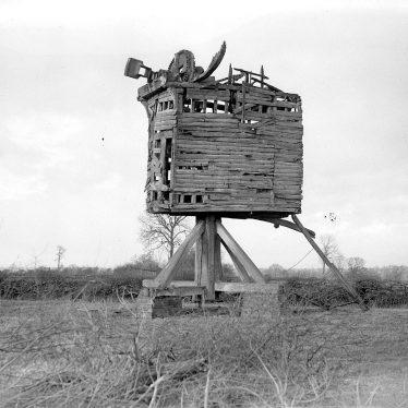 Shrewley.  Wooden Windmill